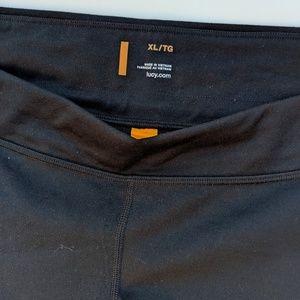 Lucy Pants & Jumpsuits - Maternity Pants XL Lucy Black Low Slung Capri New